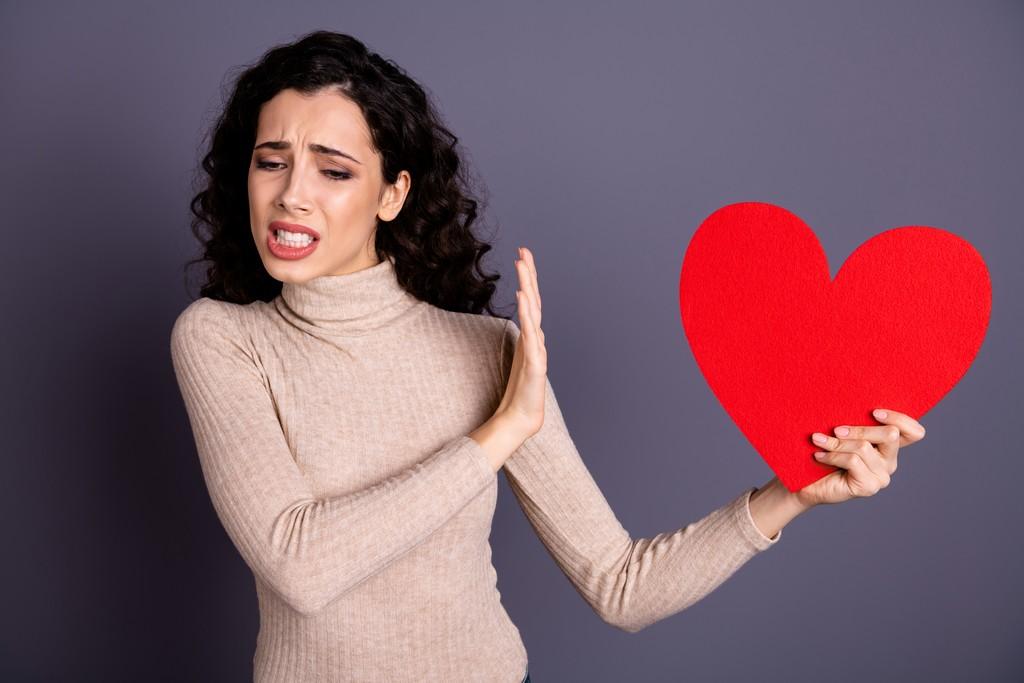 Déception amoureuse d'une femme