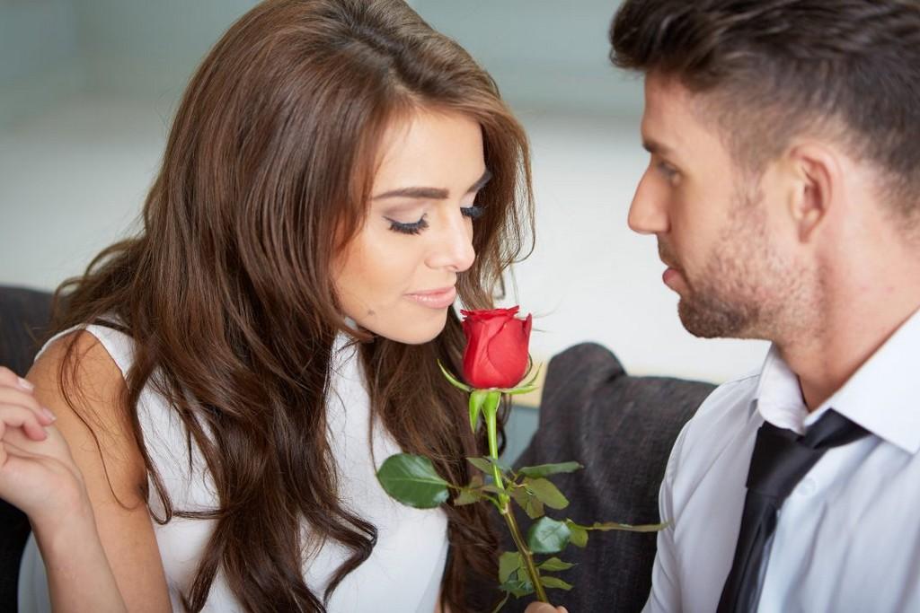 Saint-Valentin fêté par deux amoureux