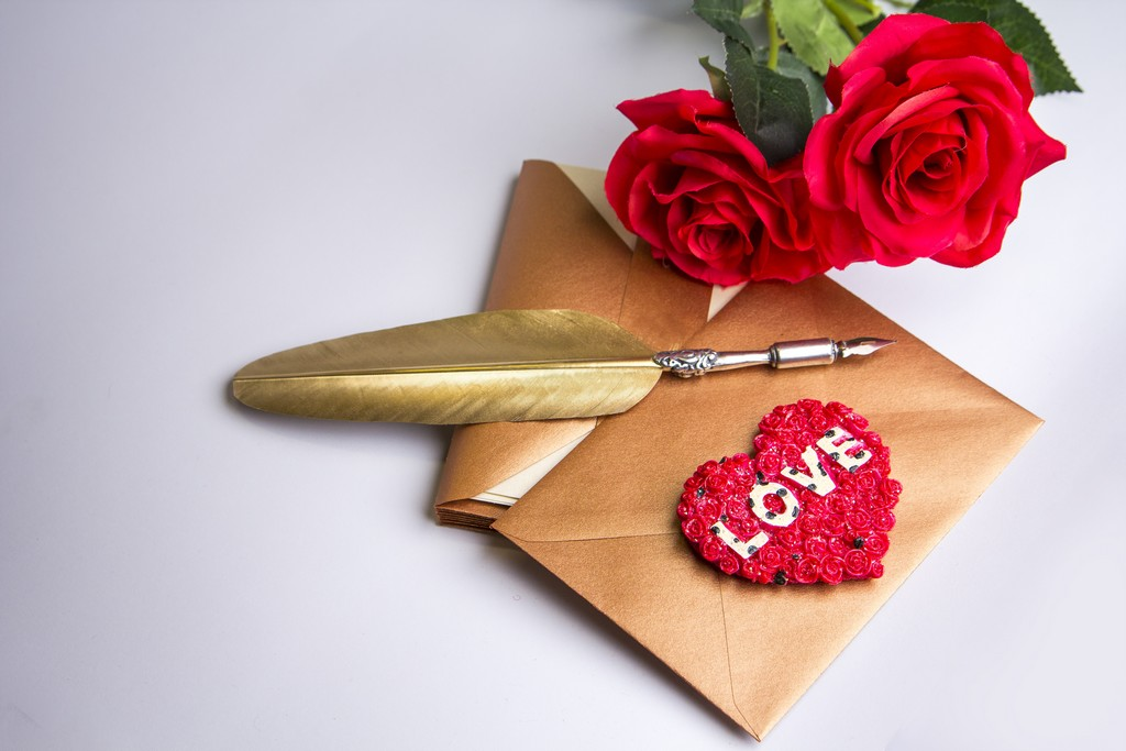 Ecrire une lettre d'amour de la Saint-Valentin