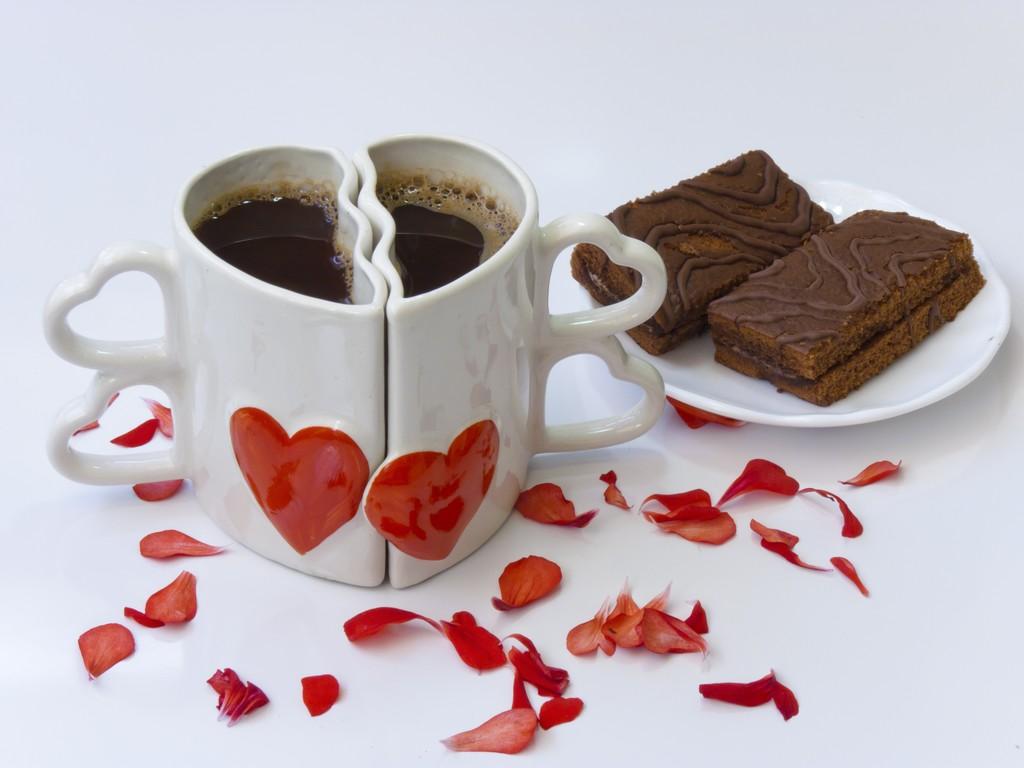 Petit Déjeuner amoureux de Saint-Valentin